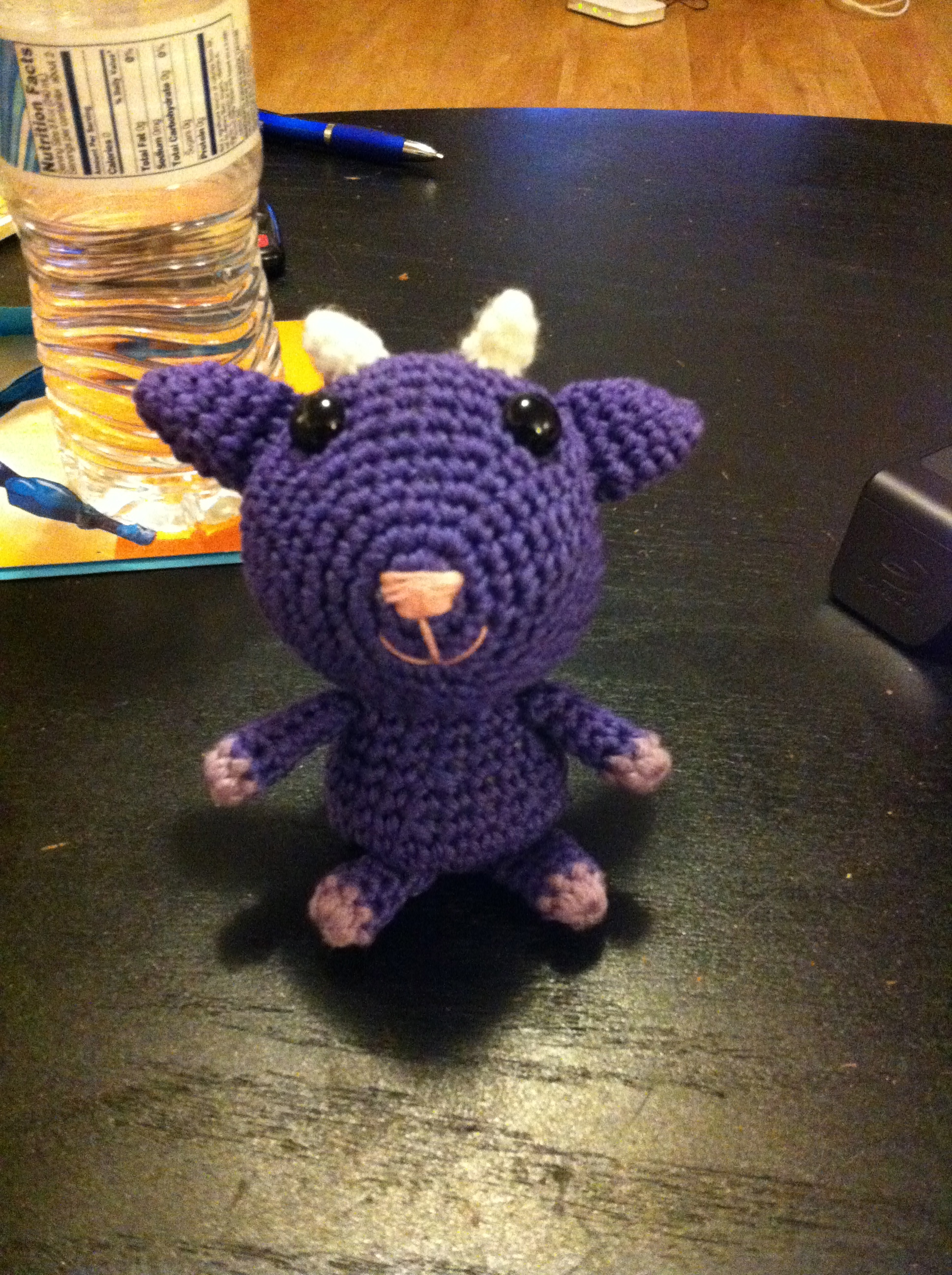 Crochet Goat Crafty Xtine